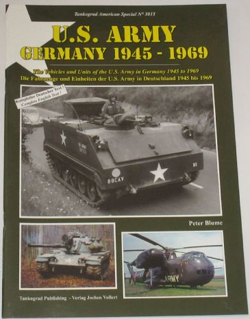 US Army Germany 1945-1969, by Peter Blume